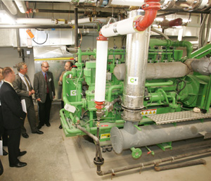Combined heat and power system