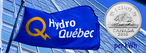 Quebec power is costing us just 5 cents per kWh