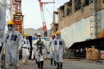 Inspecting the remains of the Fukushima reactors