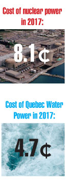 Why does the Chamber of Commerce favour high-priced power?