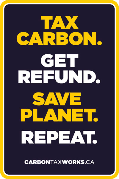 Tax carbon, get refund, repeat