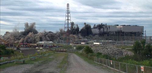 Nanticoke demolished