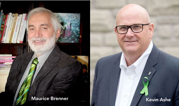 Maurice Brenner and Kevin Ashe