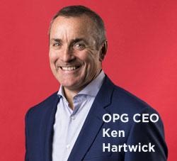 OPG CEO Ken Hartwick